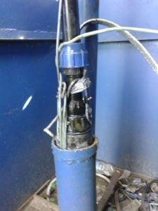 застрял насос в скважине